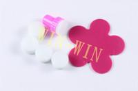 Wholesale Sponge Nail Art Sponge Stamper Plastic Holder Stamping Nail Art With Flower Palette Fashion Nail Tools X044
