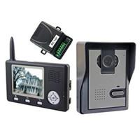 Wholesale 3 inch TFT Screen GHz Wireless digital Video Door Phone Intercom Home Security Doorbell in retail box