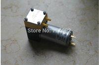 Wholesale 1pcs New DC V Kpa DC micro vacuum pump Pumping Air sampling liquid pump for medicine free ship free track number