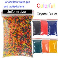 air guns accessories - 50000 Colorful Crystal Bullet Paintball Bullet Bibulous Orbeez Gun Toy Nerf Accessories Most Pistol soft air water gun toys