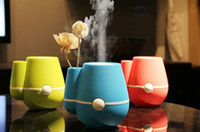 Wholesale NEW Mini usb humidifier ultrasonic humidifier air humidifier Anion aromatherapy essential oil aroma diffuser