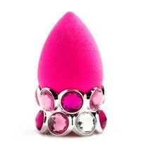 latex powder - Bling Ring BB Original Beauty Pink Sponge Latex Free Foundation Powder Blender Makeup Applicator Kit Tools DHL