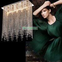 Wholesale decoration ceiling light bedroom emergency luminaire modern led ceiling lights for living room high power led crystal ceiling lamps