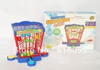ball shooting games - Fashion or Retail Manaul Bird Cage Ball Shoot Desktop Game Funny Plastic Toy Family Game Christmas Gift