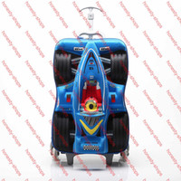 rolling bag - 16 inch D mickey three impeller pull rod box Trolley School Bags boy girls Travel Luggage Suitcase On Wheels Kids Rolling Bags