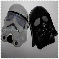 Wholesale 100pcs New Halloween Festival horror mask Star Wars the Darth vader mask color sale