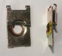 auto u clips - Interior Accessories Auto Fastener Clip U type iron clamp Auto Metal Retainer Car Metal Clip Automotive Metal Fasteners