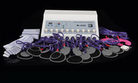Wholesale 10 Output Microcurrent Body Shaping Slimming Skin Firm Tone Fitness Spa Machine Slimming EMS Muscle Stimulator
