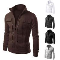 Wholesale Fall Large Size Colors Warm Outdoor Winter Jacket Men jackets Hood Sport men s sportswear men hoodie sweatshirt
