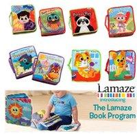 6pcs / lot Lamaze jouets éducatifs Cloth, 7 articles disponibles drôle