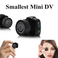 Wholesale Small Y2000 Video Camera HD Mini Pocket DV DVR Camcorder Recorder Spy Hidden Camera Web Camera