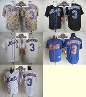 baseball pa - 2015 Newest Men s New York Mets Curtis Granderson White Black Camo Blue White Stripe Baseball Jerseys w Postseason Pa