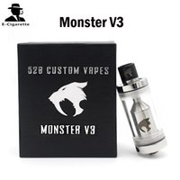 vapes - Kayfun Monster V3 RBA Tank Atomizer Custom Vapes Full Section Tank Upgraded Airflow Control System VS Kayfun V2 Kayfun RBA