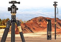 Wholesale 2016 Hot Professional Photographic Portable Tripod To Monopod Ball Head For Digital SLR DSLR Camera Fold cm Max Loading Kg