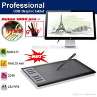 Wholesale Newest HUION Pro Digital Graphic Tablets Drawing Tablet Board Pad Panel Rechargeable Pen USB