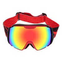 Wholesale High Quality Outdoor Skiing Skating Hiking Goggles Eyewear Anti fog UV Protection Adjustable Windproof Double Lens Goggles