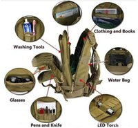 Wholesale 30L Outdoor Sport Military Tactical Backpack Molle Rucksacks Camping Trekking Bag