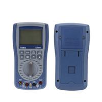 ammeter resistance - Handheld LCD Digital Multimeter DC AC Resistance Tester Voltmeter Ammeter with Test Lead Triode Testing Attachment Voltmeter E0613