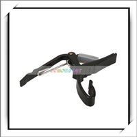 Wholesale shipping free Quick Change Guitar Capo for Acoustic Electric Guitar Black Guitar Capo Good and High Quality Y1001BL