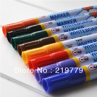whiteboard pen - 2 mm High Quality Whiteboard Marker White Board Pen Dry Erase Marker color mixed