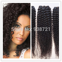 Wholesale Brazilian curly virgin hair bundle deals ali moda brazilian curly brazillian curly hair kinky curly clip in hair extensions