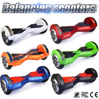 Wholesale 2 whells Self Balancing Scooter Inch Electric Smart Drifting Hoverboard With Bluetooth Led Light Electric Scooter With Retail Package
