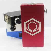 150W <b>hexohm V3</b> caja mod 3.5v-6v Voltaje dual 18650 hexohm mod 1: 1 clon pantalla LED VS TC Sigelei 150w Vaporizador