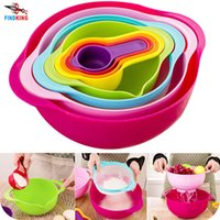 Bone China ECO Friendly CE / EU FINDKING brand high quality mother day gift 8 piece in one set Multicolor creative kitchenware set kitchen Bowl set kitchen tool