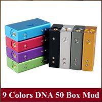e cigarette mod - Top Quality DNA W Box Mod Clone Colors Hana Modz Clone W Variable Wattage vs Cloupor T5 ZNA Xpro E Cigarette Mods