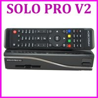 Cheap 1pc ( VU ) Solo Pro V2 Satellite Receiver Linux System Enigma 2 Mini VU+ Solo with CA card sharing Youtube IPTV free shipping post