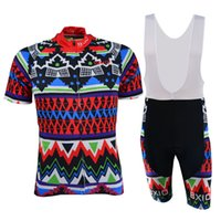 apparel biker - Fashion Zipper Bike Jerseys Sets for Cyclist Road Bicycle Apparel Suits Biycycle Bikers Pro Bicycle Jerseys BX F