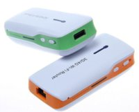 Wholesale Wifi Repeater G G Mini Wireless Router Mbps w mAh Mobile Power Bank Battery
