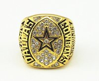championship ring - Championship rings k gold plated Cowboys XXVII champions alloy ring size