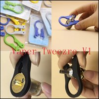 Wholesale Multifunction tool Vaper Twizer Wrapping Coiler Adjustment Wire Spanner Tool InsulatedVaper Tweezre V1 for DIY RDA Vapor Vape via DHL