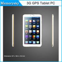 GPS Hot 9 pouces écran HD MTK6572 Dual Core Dual Camera Android 4.4 512M / MID FM BT 3G 8 Go de mémoire appel téléphonique 1024 * 600 5000mAh Tablet PC 002856
