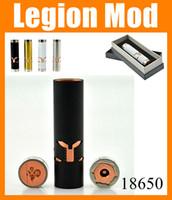 Cheap Black White Brass E Cigarette Legion Mod Ecig Doge Legion RDA 18650 Legion Mod stainless steel Vapor vs Stingray x Panzer mod TZ175