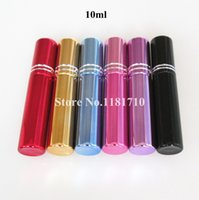 Wholesale 50pcs ml glass spray bottle empty perfume bottle cosmetic perfume bottle refillable glass atomizer bottle