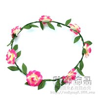 Cheap Accesorios Para El Pelo Hair Clip Children Wholesale Wedding Bridal Wreath Romantic Hawaiian Headdress Hair Accessories Trade
