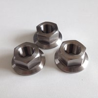 Wholesale Gr5 Titanium alloy flange nut M12 a