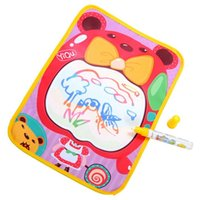 Wholesale 4001 New High quality cm Water Drawing Toys Mat with Magic Pen Children s Drawing Board Baby Play Toys