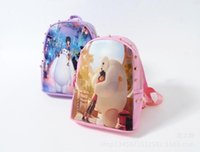 Wholesale Boys And Girls Backpacks Beast Corps Cartoon Character Children Shoulders Knapsack High Quality PU Bags For Kids CM