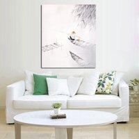 Livraison gratuite et peints à la main Photos sur toile Le pêcheur peinture à l'huile de pêche pour la décoration de salle Peinture mur Hang Craft