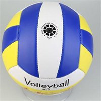Wholesale Special Offer Sports Thickened Pro Student Volleyball Designer PU Leather Match Training Ball Volleyball Size