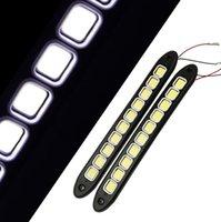 Wholesale 2pcs Flexible COB LED Daytime Running Light V Fog light DRL LED Waterproof