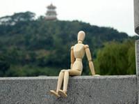 achat en gros de joints de mannequin-2 pcs / lot (20cm et 30cm) mannequin mannequin en bois Man Man Mannequin humain main modèle joints 8 pouces / 12 pouces
