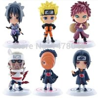 Wholesale Full Set Q Edition Naruto Anime Action Figures Collection PVC Naruto Figures Model toy Set Action Figure Toys