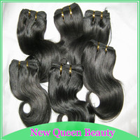 Wholesale 6pcs short weave Peruvian human hair g body wave weft dark colors quot quot Special discount