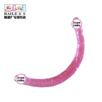 artificial penis - Hot Cool Dual Head Dildos G Spot Adult Sex Toys Artificial Realistic Penis Silicone Pink Model MM MM