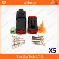 truck and engine - 5 sets Deutsch DT06 S and DT04 P Pin Engine waterproof electrical connector for car motorcycle truck boats etc