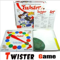 Wholesale Fashion Twister Game Funny Twister Classic Board Game Body Twister Game With Friends Play Mat cm cm